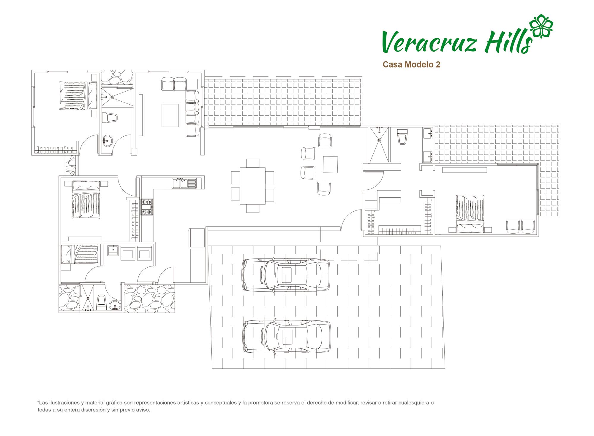 Veracruz Hills - Modelo 2