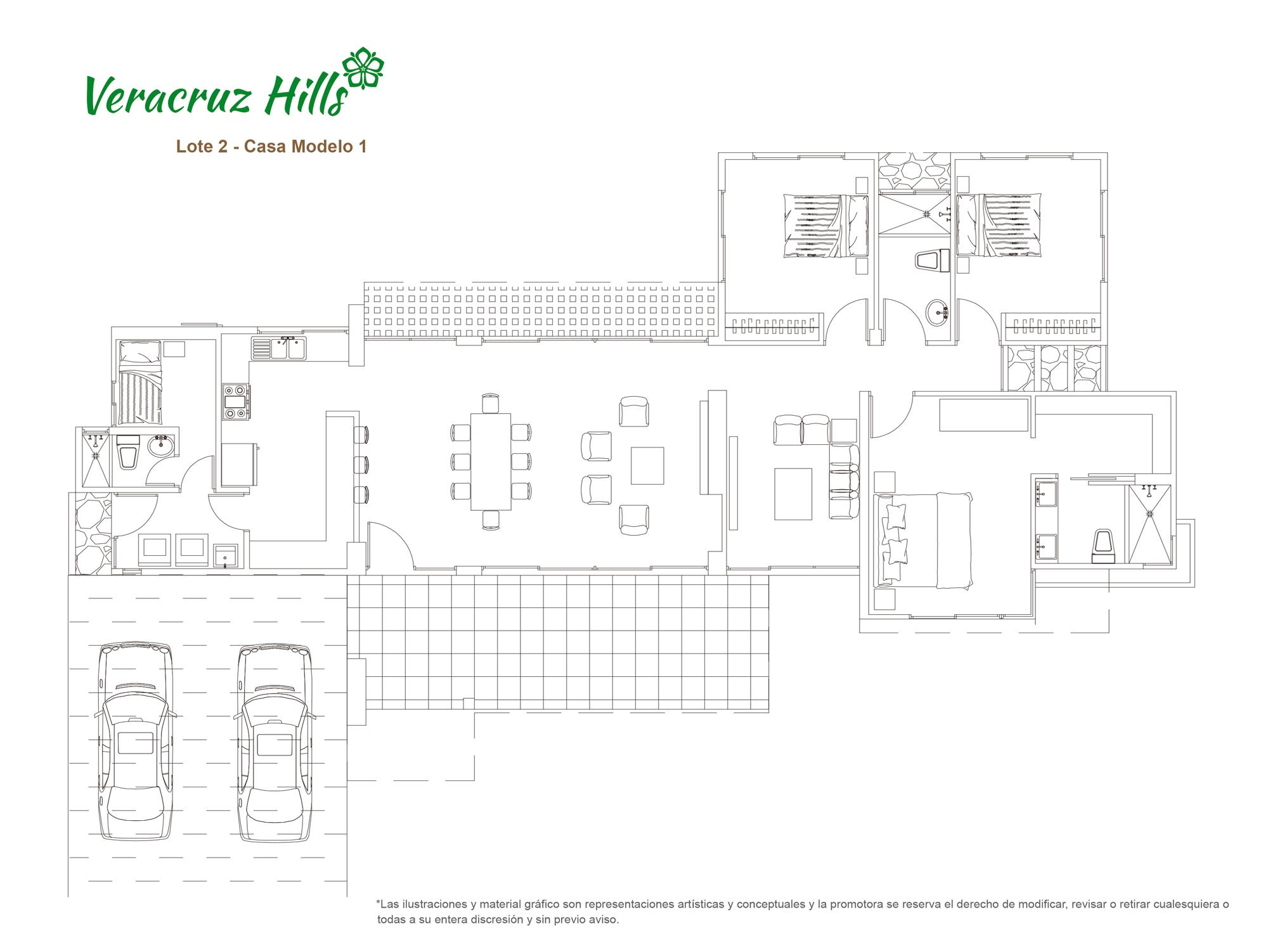 Veracruz Hills -  Modelo 1
