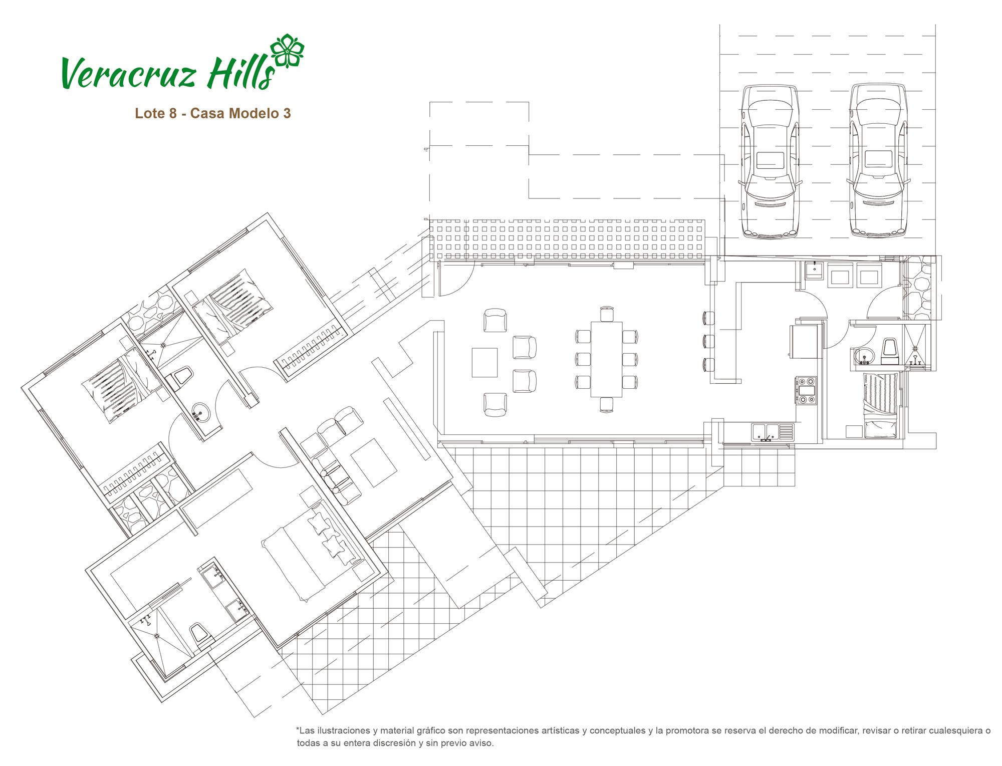 Veracruz Hills - Modelo 3